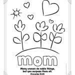 Mothers Day Cards Colouring Exclusive Coloring Moming Pages to Print Image Inspirations Simplified