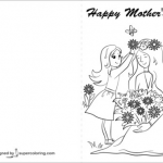 Mothers Day Cards Colouring Inspiration Free Printable Coloring Mothers Day Cards 69 Images In Collection
