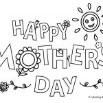 Mothers Day Cards Colouring Inspirational 26 Mothers Day Coloring Pages Kids Download Coloring Sheets