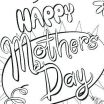 Mothers Day Cards Colouring Inspired Mothers Day Coloring Cards Print – Ourwayofpassion