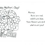 Mothers Day Cards Colouring Inspired Mothers Day Coloring Sheets for Preschoolers – Johnsimpkins