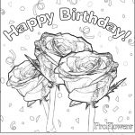 Mothers Day Cards Colouring Inspiring Happy Birthday Drawing Cards at Getdrawings