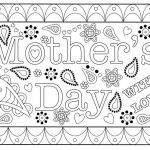 Mothers Day Cards Colouring Pretty Coloring Mother Day Card Coloring Page Cablo Mongroundsapex Co