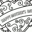 Mothers Day Cards to Print and Color Best Coloring Coloring Mom Pages to Print Mothers Day Free Printable