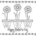 Mothers Day Coloring Card Amazing 71 Best Mothers Day Coloring Sheets Images