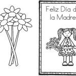 Mothers Day Coloring Card Beautiful Happy Mother S Day Feliz Da De La Madre Card Spanish by