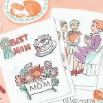 Mothers Day Coloring Card Inspired Free Printable Mother S Day Coloring Pages