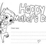 Mothers Day Coloring Card Inspiring Coloring Coloring Mom Pages to Print Mothers Day Free Printable