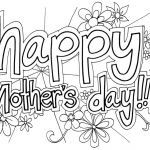 Mothers Day Coloring Card Inspiring Free Printable Mother S Day Coloring Pages