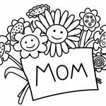 Mothers Day Coloring Card Pretty Free Printable Mother S Day Coloring Pages