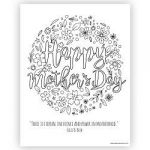 Mothers Day Coloring Pages Printable Wonderful God Bless America Coloring Page