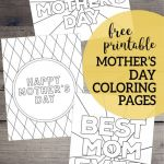 Mothers Day Coloring Sheets for Preschoolers Inspiration Free Printable Mother S Day Coloring Pages Mother S Day