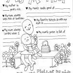 Mothers Day Coloring Sheets for Preschoolers Inspirational 30 Free Mother S Day Prints Celebrate Mother S Day