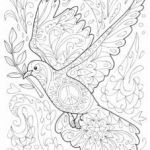 Mothers Day Coloring Sheets for Preschoolers Pretty Colouring Pages for Kids From Activity Village