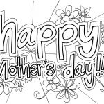 Mothers Day Colouring Pictures Amazing Free Printable Mothers Day Coloring Pages