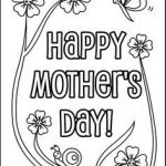 Mothers Day Colouring Pictures Brilliant 71 Best Mothers Day Coloring Sheets Images