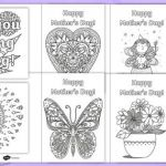 Mothers Day Colouring Pictures Excellent Free Mother S Day Card Colouring Festivals and Cultural