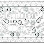 Mothers Day Colouring Pictures Inspirational Online Printable Mothers Day Cards Papaki C