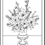 Mothers Day Colouring Pictures Inspired Free Printable Coloring Pages Mothers Day Fresh top Cool Vases