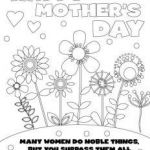 Mothers Day Colouring Pictures Wonderful √ Mother Day Coloring Picture and Mothers Day Coloring Card Eco