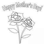Mothers Day Colourings Inspired √ Mothers Day Flowers Coloring Pages