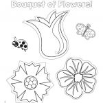 Mothers Day Pictures to Color Wonderful Ready to Color Mother S Day Flowers Printable