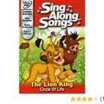 Movie Sing Free Beautiful Amazon Disney S Sing Along songs the Lion King Circle Of Life