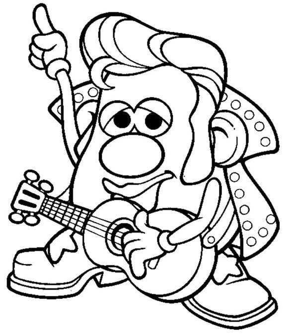 Mr Krabs Coloring Pages Best Of Mr Potato Head Drawing at Paintingvalley