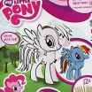 My Little Pony Color Book Beautiful My Little Pony Starpak 3d Creative Drawing Set Cardboard with