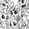 My Little Pony Color Inspiration 22 Beautiful Pony Coloring Pages