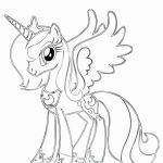 My Little Pony Coloring Awesome Pics Princess Celestia Download New Pics Princess Celestia