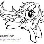My Little Pony Coloring Best Of Rainbow Dash Coloring Pages Inspirational Rainbow Dash Coloring Page