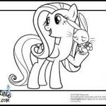 My Little Pony Coloring Book Pages Exclusive My Little Pony Fluttershy Coloring Pages