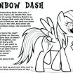 My Little Pony Coloring Book Pages Wonderful My Little Pony Color Book – Onlineqicyfo