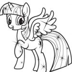 My Little Pony Coloring Books Inspired Pin Oleh Alifiah Di Coloring Pages