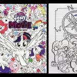 My Little Pony Coloring New My Little Pony the Movie Coloring Book Pinkie Pie and Rarity