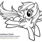 My Little Pony Coloring Pages to Print Beautiful Rainbow Dash Coloring Pages Inspirational Rainbow Dash Coloring Page