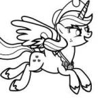 My Little Pony Coloring Pages to Print Inspiration My Little Pony Coloring Pony Coloring Pages New Girl Coloring Luxury