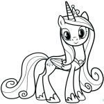 My Little Pony Coloring Sheets Printable Best My Little Pony Princess Cadence Coloring Page – Littapes