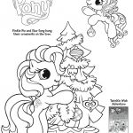 My Little Pony Coloring Sheets Printable Exclusive My Little Pony Coloring Page Preschool