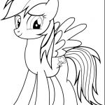 My Little Pony Coloring Sheets Printable Marvelous Inspirational Mlp Rainbow Dash Coloring Pages androsshipping