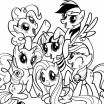 My Little Pony Colouring Brilliant Free Printable My Little Pony Coloring Pages for Kids