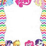 My Little Pony Pdf Creative My Little Pony Invitation Template