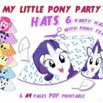 My Little Pony Pdf Excellent My Little Pony Birthday Printables – 488websitedesign