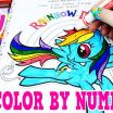 My Little Pony Printable Pictures Awesome My Little Pony Color by Numbers Coloring Book Mlp Colors Episode