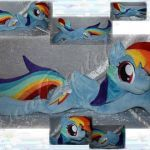 My Little Pony totems Best Of Rainbow Plushie