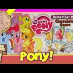 My Little Pony totems Fresh My Little Pony Game Remember Me Matching Chocolate Kids Game