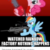 My Little Pony totems New 🐣 25 Best Memes About Rainbow Factory Meme