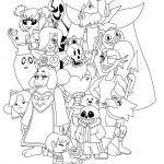 Naruto Coloring Pages Pretty Undertale Coloring Pages Printable Projects to Try