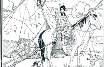 Native American Coloring Books for Adults Awesome √ Native American Coloring Pages or Coloring Pages Native American